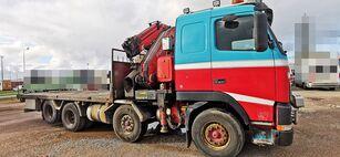 бортовой грузовик VOLVO FH12 460 8x2 *manual *Fassi 660XP + jib