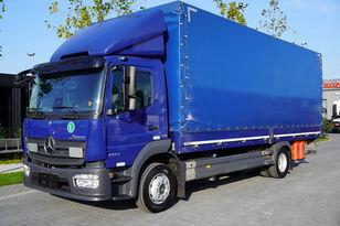 грузовик штора MERCEDES-BENZ Atego 1224L / Euro 6/18 europallets / 240 thousand. km!