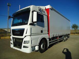 тентованный грузовик MAN  TGX 26 440
