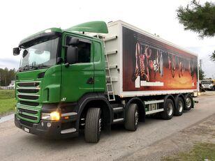 зерновоз SCANIA R 440 10x4 paszowóz wywrotka do zboża Sprowadzony ze Szwajcarii