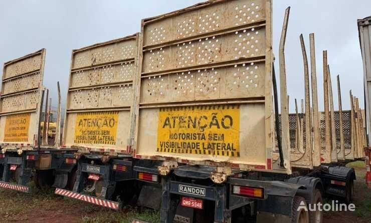 прицеп лесовоз BITREM FLORESTAL - DIANTEIRO+TRASEIRO