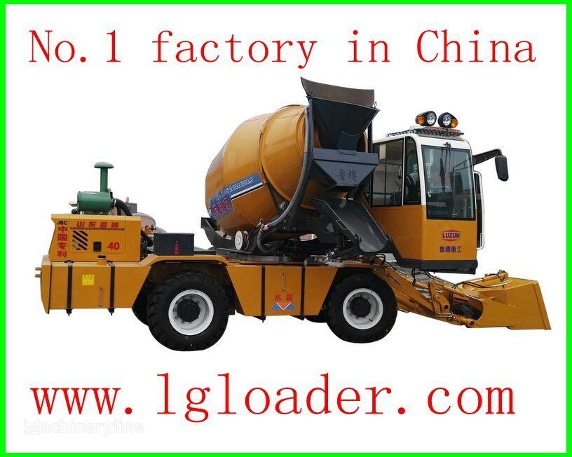 новый автобетоносмеситель self loading concrete mixer1