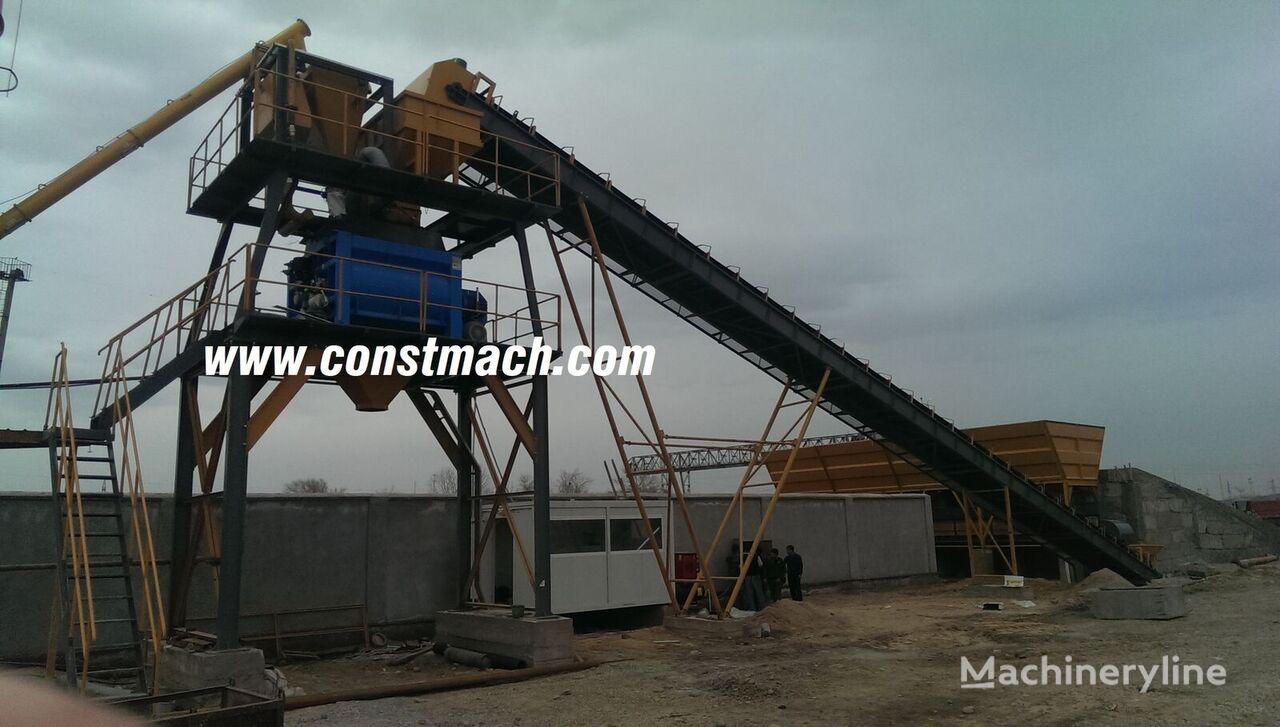 новый бетонный завод CONSTMACH 60 m3/h CONCRETE PLANT, READY AT STOCK, CE CERTIFICATE