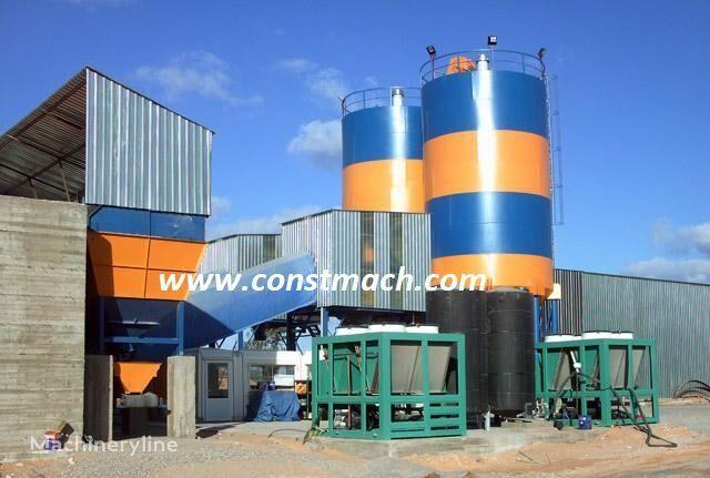 новый бетонный завод CONSTMACH HUGE CONCRETE FACTORY FOR BIG DEMANDS 240 m3 CAPACITY