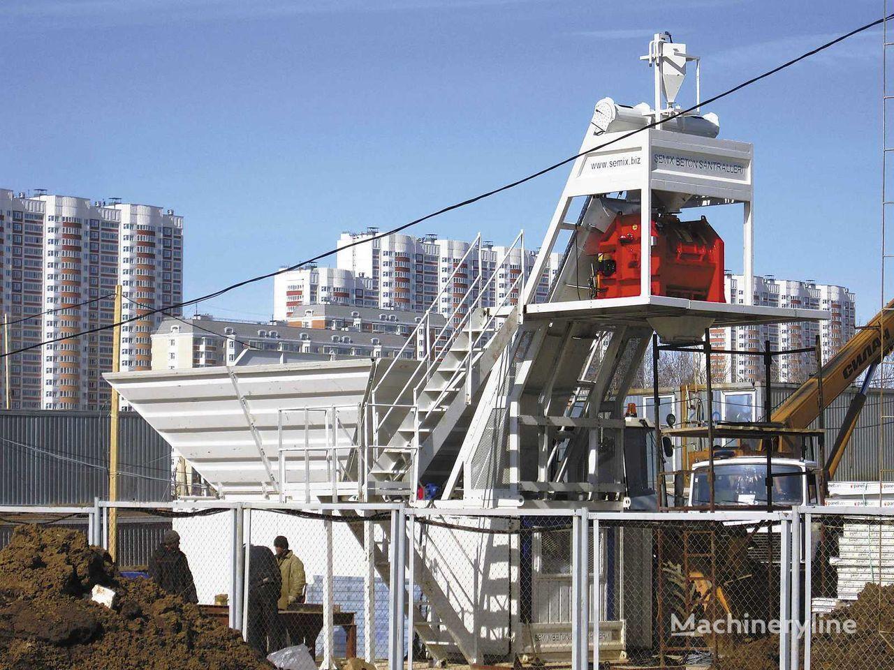 новый бетонный завод SEMIX Compact 30 SEMIX COMPACT CONCRETE BATCHING PLANTS 30m³/h