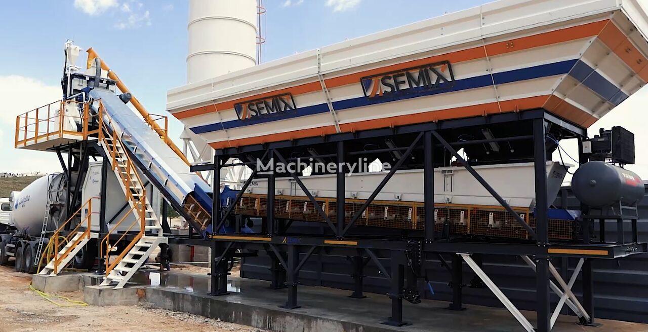 новый бетонный завод SEMIX MOBILE CONCRETE BATCHING PLANTS 60 m³/h