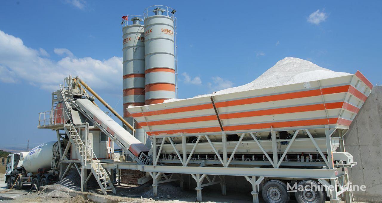 новый бетонный завод SEMIX Mobile 100 S4  MOBILE CONCRETE BATCHING PLANTS