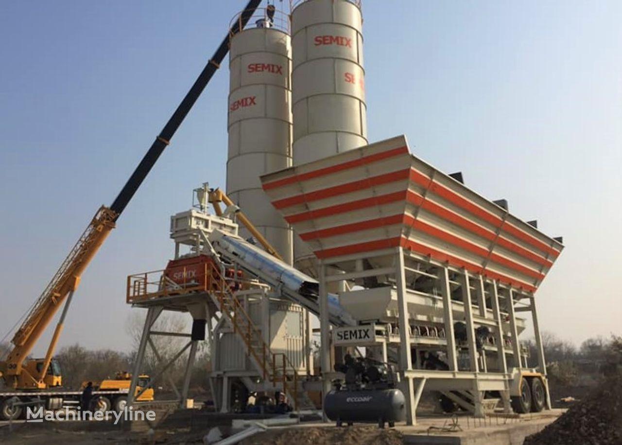 новый бетонный завод SEMIX Mobile 120-135 Y SEMIX MOBILE CONCRETE BATCHING PLANTS 120-135 m