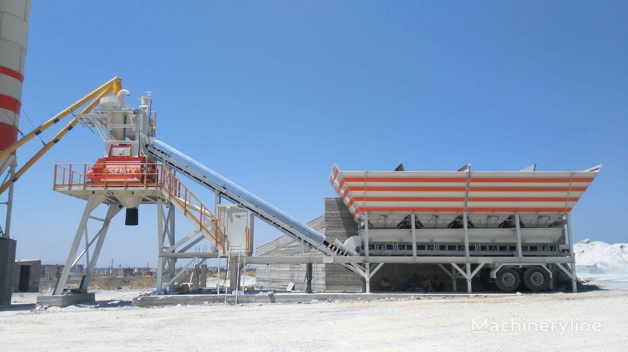 новый бетонный завод SEMIX Mobile 160S4 SEMIX MOBILE CONCRETE BATCHING PLANTS 160 m³/h