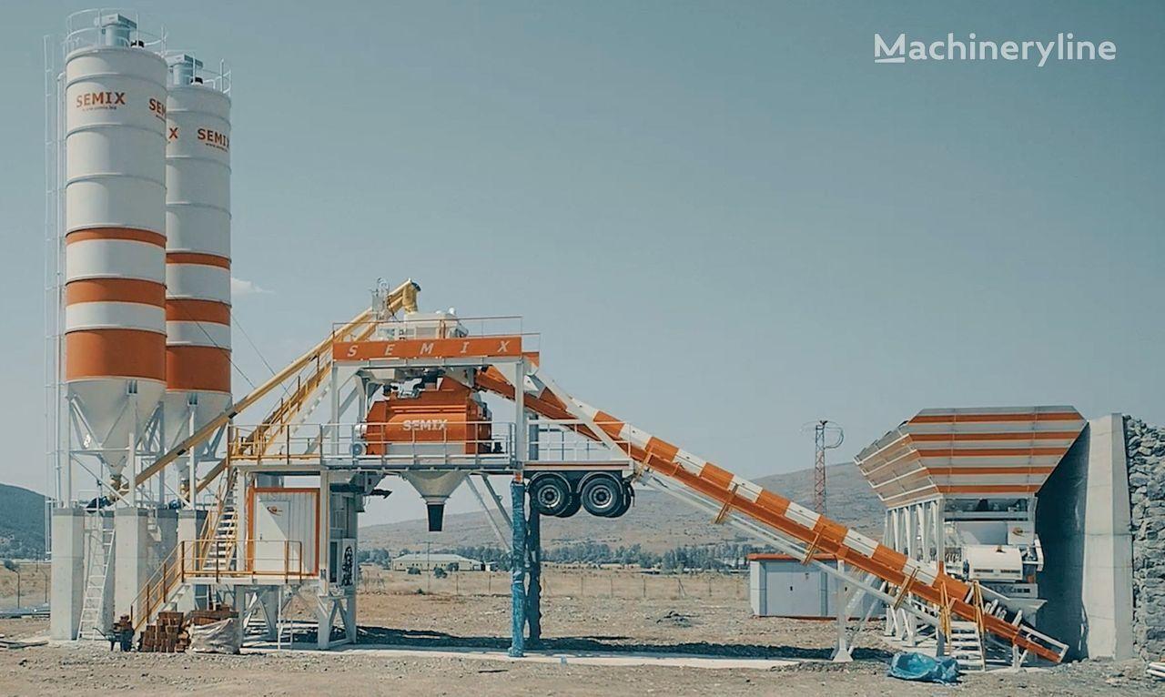 новый бетонный завод SEMIX Mobile 160S4 SEMIX MOBILE CONCRETE BATCHING PLANTS 160m³/h