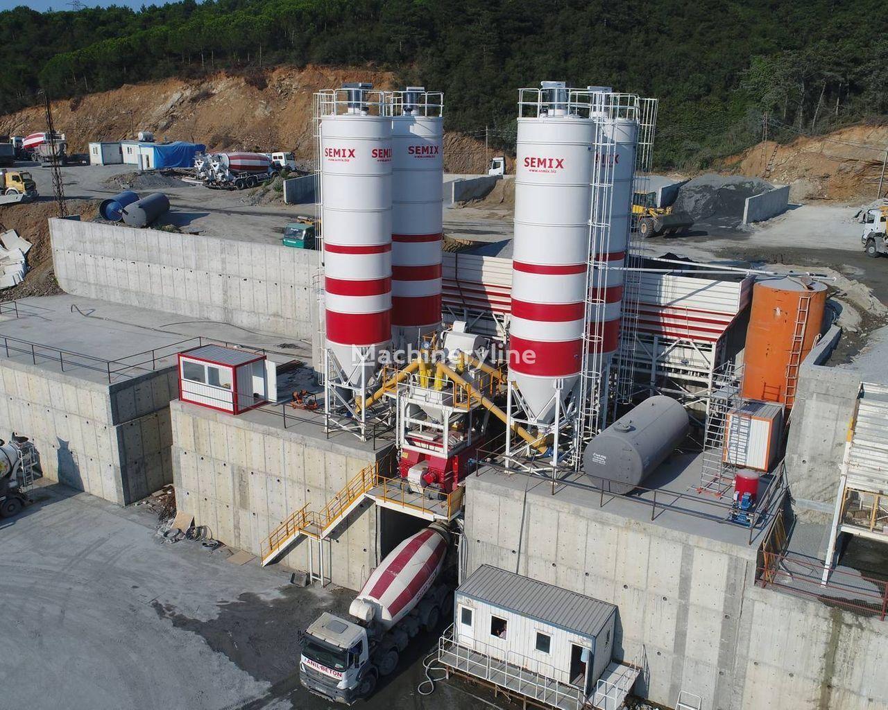 новый бетонный завод SEMIX Stationär 200 STATIONÄRE BETONMISCHANLAGEN 200 m³/Std