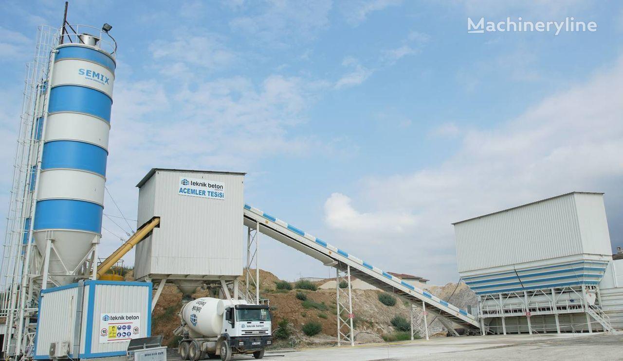 новый бетонный завод SEMIX Stationary 160  160m³/h