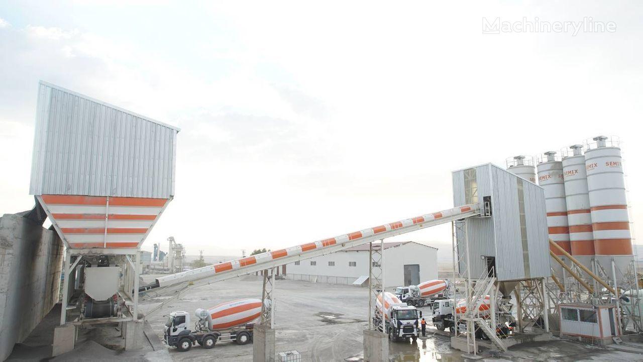 новый бетонный завод SEMIX Stationary 240 SEMIX STATIONARY CONCRETE BATCHING PLANTS 240m³/h