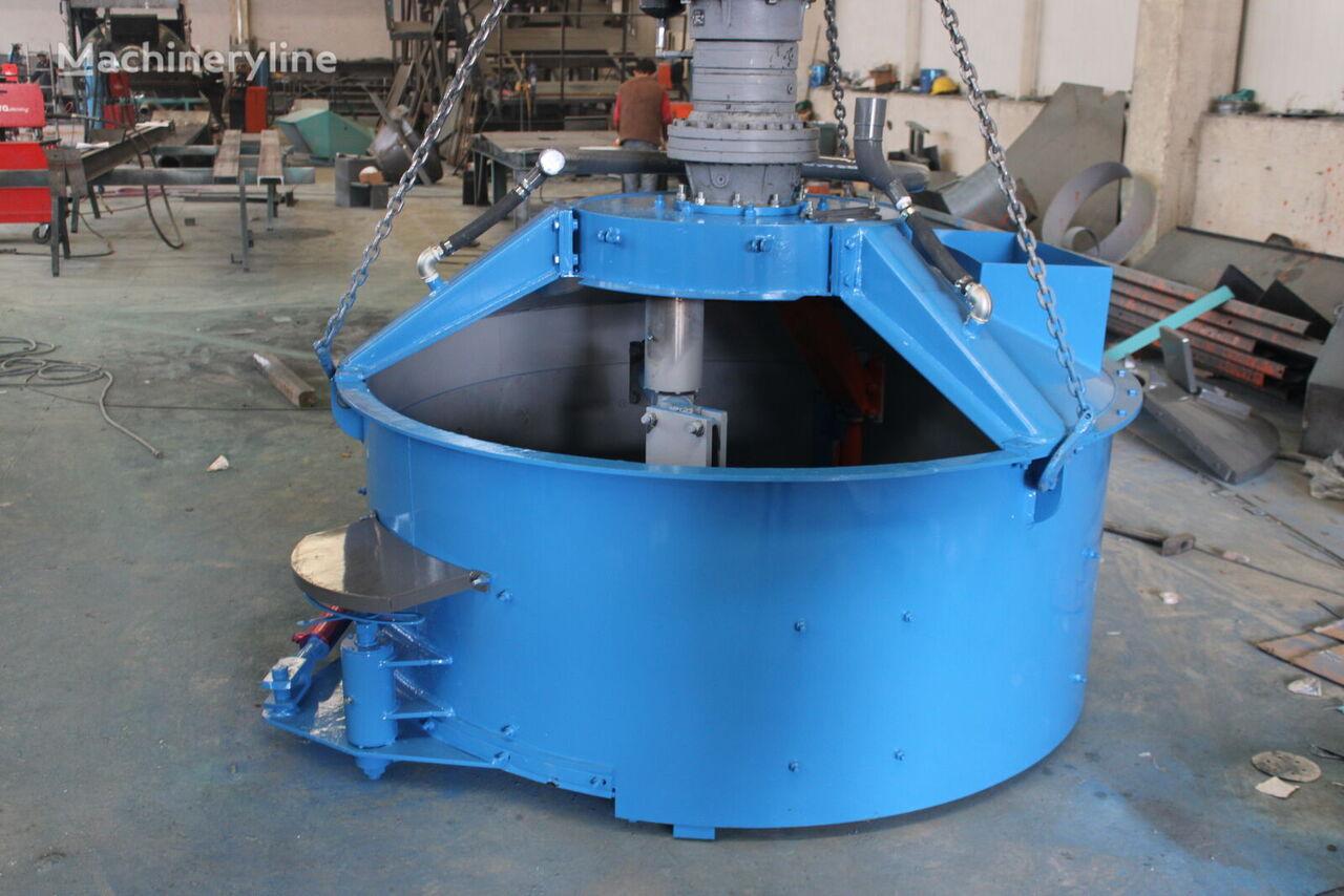 новая бетономешалка CONSTMACH Planetary Mixer Ready At Stock