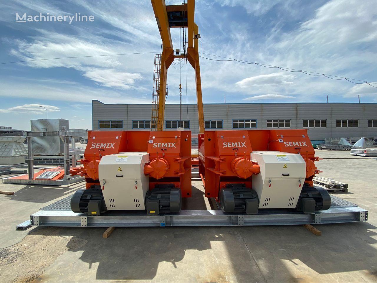 новая бетономешалка SEMIX DOPPELWELLEN-BETONMISCHER 2 m³/ 3 m³/ 4 m³/ 5 m³
