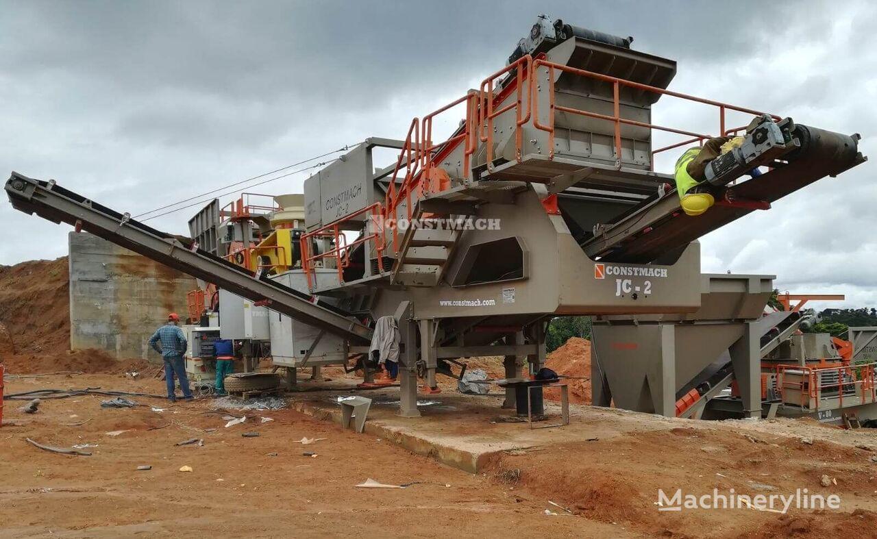 новая дробильная установка CONSTMACH 50-60 tph MOBILE BASALT – GRANITE CRUSHING PLANT, READY FOR DELI