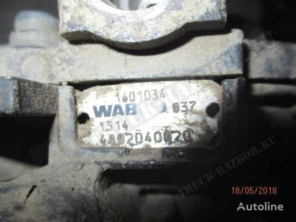 пневмокран управления тормозами прицепа для тягача DAF